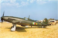 A Surviving Fiat G.55 put on display in a full-size diorama.