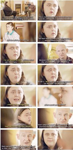 My Mad Fat Diary, this scene was really important I think. Perhaps my favourite from the entire show.