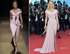 As jury president for Un Certain Regard, Uma Thurman was also at the 2017 Cannes Film Festival opening ceremony and premiere of 'Ismael's Ghosts (Les Fanto