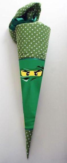 Schultüte Zuckertüten Hülle Ninja Einzelstück!!! Ninja Schultüte ninjago Zuckertüte Stoffhülle...,Schultüte Zuckertüten Hülle Ninjago Lloyd Ninjago in Oldenburg - Oldenburg