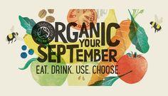 """Reino Unido promove """"Organics september"""", setembro é o mês orgânico"""