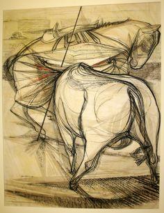 nigel lambourne bullfight