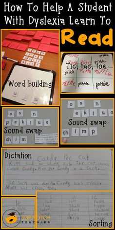 How to Help a Student with Dyslexia Learn How to Read