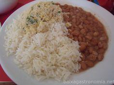 arroz feijao e farofa