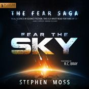 I just finished listening to Fear the Sky by Stephen Moss, narrated by R.C. Bray on my #AudibleApp. https://www.audible.com/pd?asin=B00S8FDCTK&source_code=AFAORWS04241590G4