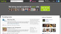 @Listly -- A must have for anyone who curates content. Make lists that anyone can contribute to and embed them anywhere.