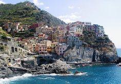 Manarola, La Spezia, Liguria, Italy.