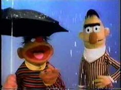 Classic Sesame Street - Ernie and Bert in the rain - YouTube