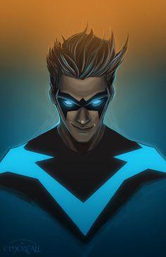 "thehappysorceress: ""Nightwing by Alex Malfoy """