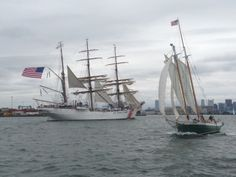 Sail Boston Harbor aboard a Tall Ship for a Boston Harbor cruise on a classic schooner.