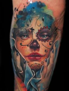Amazing tattoo design. Great color blending.