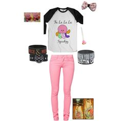 """""""SQUIDGY SQUIDGY FA LALALA"""" by sbeathard on Polyvore This is a must have outfit for me! I love it so much!"""