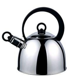@Overstock - It's tea time with this stainless steel teakettle  Durable serveware has generous 2-quart capacity  Tea set's whistling spout reminds you when water is boilinghttp://www.overstock.com/Home-Garden/Stainless-Steel-2-quart-Teakettle/2999456/product.html?CID=214117 $15.90
