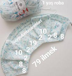 Best 12 No photo description available. – Page 575264552402082021 – SkillOfKing. Crochet Baby Jacket, Baby Sweater Knitting Pattern, Crochet Baby Booties, Sweater Knitting Patterns, Knitting Designs, Baby Knitting, Baby Clothes Patterns, Dress Patterns, Knitted Baby Clothes