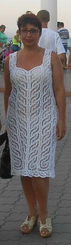 """MAGIA BIANCA (DRESS GANCI AMORE MOLTO BELLO DA SHEVCHUK): Diario di """"FASHION maglia + NEMODELNYH per le donne"""" - Mamma Paese"""