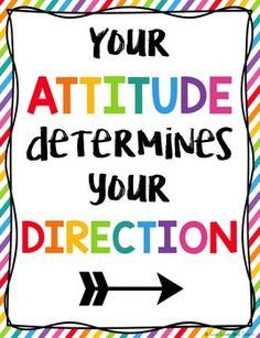 Motivational Classroom Posters - Rainbow Sample Set Freebie