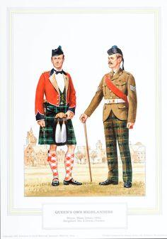 Queens Own Highlanders