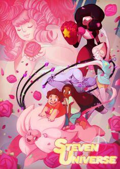 Fanart- Steven Universe by ben-ben on DeviantArt Steven Universe Poster, Universe Art, Chibi Anime, Anime Manga, Cartoon Network, Otaku, Fanart, Save The Day, Cosplay