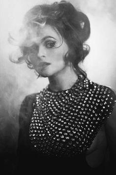 "ruthwilson: "" Helena Bonham Carter photographed by Greg Williams "" Helena Bonham Carter, Helen Bonham, Helena Carter, Tim Burton, Pretty People, Beautiful People, Beautiful Beautiful, Marla Singer, Greg Williams"