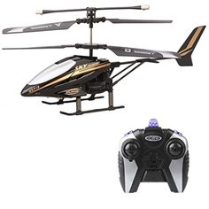 Doinshop HX713 RC 2.5CH Helicopter Infrared Radio Remote Control Aircraft (Black)