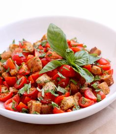 The Best Panzanella You'll Ever Have   A Cup of Jo