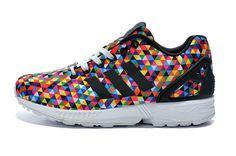 adidas zx flux dames print