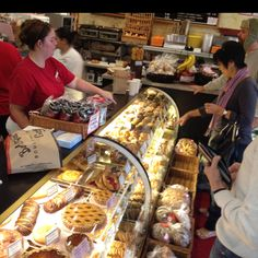 Wine Country Travel Tip: When visiting Sonoma start Saturday morning at The Basque Boulangerie on the east side of Sonoma Square for fresh pastries and coffee with the locals.