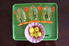 Playing House: Tot Trays - Easter