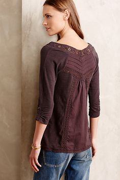 Lace Medley Top - anthropologie.com- Love! Love! Love!