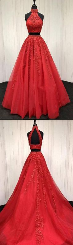 Cheap Charming Custom Two Pieces Most Popular Modest Prom Dresses, Party Evening dress, PD0652 #sposabridal #promdresses