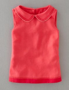 Stitch Detail Top fr Boden--could use Sorbetto and add collar, bottom band