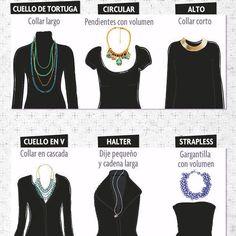 El collar perfecto para tu blusa favorita  #ootd #fashiontip