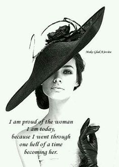 You have a right to be proud of how far you have come ~ created by Jovita