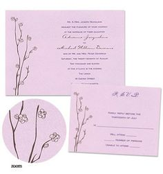 Dakota Wedding Invitations by MyGatsby.com