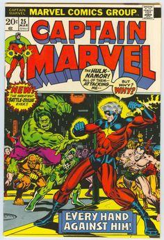 Captain Marvel - Starlin