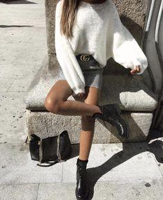 Black and white check mini skirt styled to perfection || alyannaclothing #alyannaclothing