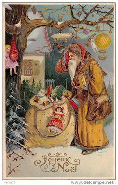 Postkaarten > Thema's > Wensen en Feesten > Kerstmis > Kerstman - Delcampe.net
