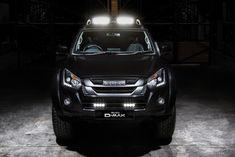 2018 Isuzu D-Max Arctic Trucks Stealth Isuzu D Max, Rodeo, Max Black, Automotive News, Toyota Hilux, Entertainment System, Diesel Engine, Lifted Trucks, Sport Bikes