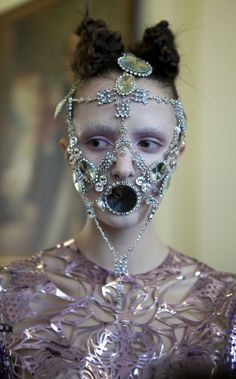 Givenchy face jewelry