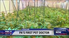 Pennsylvania's first marijuana practitioner has set up shop in Old City.
