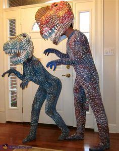 Couple of Dinosaurs - 2014 Halloween Costume Contest