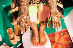 bridal henna - Indian Wedding | The Creative Lens Photography