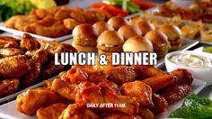 Golden Corral Wings & Appetizer Bar :15 - YouTube