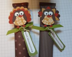 Thanksgiving Placecards and Favors to Make