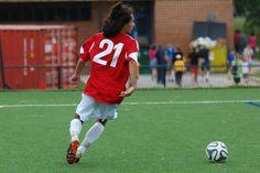 Team America 96 (2014 OBGC Capital Cup, U18/U19 Premiere) vs ABGC United (August 30, 2014) -- Maurice Martinez #21 (TAFC96 Soccer)