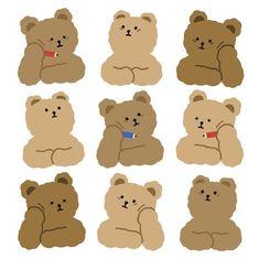 drawings of people Stickers Kawaii, Cute Stickers, Journal Stickers, Planner Stickers, Retro, Korean Stickers, K Wallpaper, Fanarts Anime, Cute Doodles