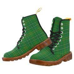 Tartan Boot – Cunningham Dress Green Dancers Martin Boot – Your Tartan Clan Buchanan, Clan Macdonald, Campbell Clan, Clan Macleod, Floral Combat Boots, Large Leather Tote Bag, Martin Boots, Timberland Boots, Green Dress