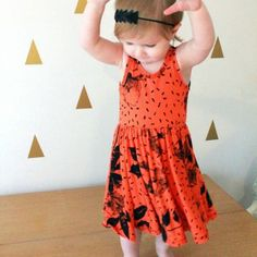 Summer twirl dress for your mini