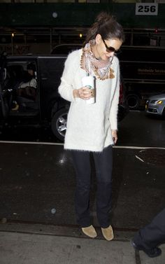 Former Mrs Cruise Cozy Sweaters Ankle Booties Katie Holmes Cruise Wedge