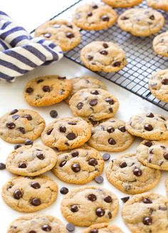 Almond Flour Chocolate Chip Cookies - soft and chewy chocolate chip cookies made undetectably gluten and grain free! Almond Flour Chocolate Chip Cookies - soft and chewy chocolate chip cookies made undetectably gluten and grain free Keto Cookies, Almond Flour Cookies, Gluten Free Chocolate Chip Cookies, Almond Flour Recipes, Keto Chocolate Chips, Best Chocolate Chip Cookie, Gluten Free Cookies, Vegetarian Chocolate, Cookies Soft